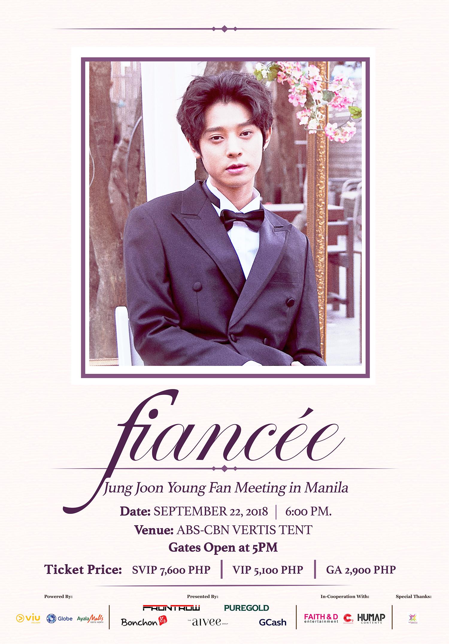 Fiancee: Jung Joon Young Fan Meeting in Manila